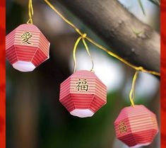 Chinese New Year Paper Lanterns: Free Printables for the Chinese New Year | Disney Baby