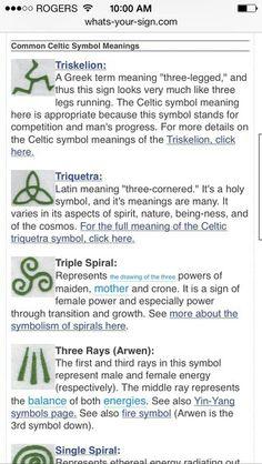 keltische symbolen tat...