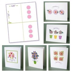 Paper Zen: Quilling Flower Pattern Update