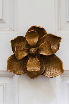 Flower Door Knocker