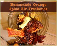 Homemade Air Freshener: A Natural Orange Spice Recipe
