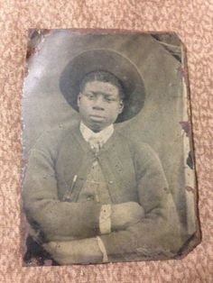 """Rare"" African American Tintype  in Collectibles, Photographic Images, Vintage & Antique (Pre-1940), Tintypes 