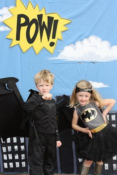 If we could pull this off it could be fun! We will already be dressed up for Halloween!