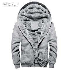 New 2016 Brand 4XL 5XL Autumn Winter Warm Thick Velvet Solid Sweatshirt Men Tracksuit Soft Shell Mens Hoodies And Sweatshirts