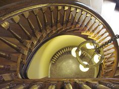 Spiral Staircase, The Handley Regional Library, Winchester, Virginia