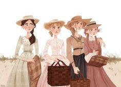 Character Inspiration, Character Art, Character Design, Jane Austen, Little Women Quotes, Art Sketches, Art Drawings, Arte Sketchbook, Anne Of Green Gables