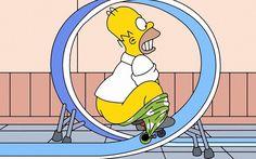 Homer Simpson Cartoon HD desktop wallpaper, Homer wallpaper, The Simpsons wallpaper - Cartoons no. Funny Cartoon Characters, Comic Book Characters, Funny Cartoons, Simpsons Simpsons, Simpsons Quotes, Homer Simpson, Cartoon Wallpaper, Hd Wallpaper, Bike Humor
