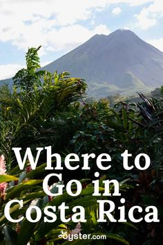 Whether you enjoy touring volcanoes, surfing in the ocean, zip-lining through rainforests, kayaking in bioluminescent rivers, or simply swinging in a hammock while listening to music, these's nine top destinations in Costa Rica have got you covered.