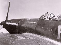 Hawker Hurricane Mk.IIC, 'RP DeDeken', 43 Squadron, RAF Tangmere, August 1942 Air Force Aircraft, Ww2 Aircraft, Military Aircraft, Hawker Hurricane, Ww2 History, Ww2 Planes, Royal Air Force, World War Two, Wwii