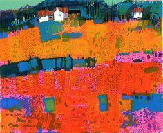 I love my Francis Boag painting, Orange Culter.