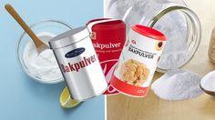 Använd bakpulver till mer än bara bakning! Här är 8 husmorsknep där bakpulver gör stor skillnad.