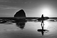 Surfer Reflection by Todd Shaffer on 500px