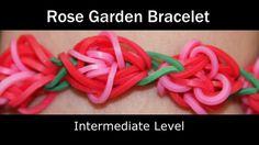 Rainbow Loom® Rose Garden Bracelet How to Video Tutorial