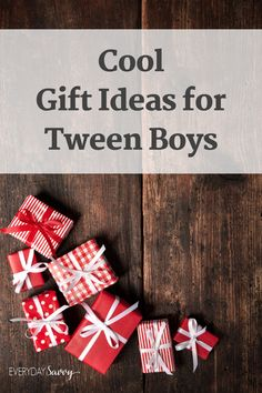 Baby Christmas Gifts, Christmas Gift Guide, Christmas Holidays, Winter Holidays, Happy Holidays, Merry Christmas, Tween Boy Gifts, Gifts For Boys, Surprise Gifts