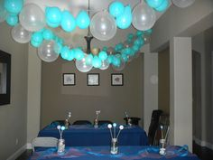 Ocean or Dolphin Party theme idea