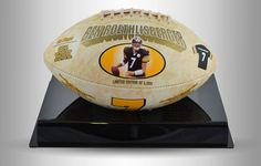 Ben Roethlisberger Football with Display Case - Starting Bid: $75.00 (Outbid #Sports #Auction)
