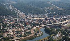 Northeast view over Cumberland, Maryland by Brian Breighner, via Flickr