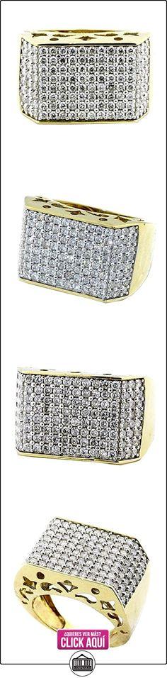 Rings-midwestjewellery.com MWJ-101107 - Anillo de hombre de oro amarillo de 10K y diamantes de 3ct (ancho 18 mm)  ✿ Joyas para hombres especiales - lujo ✿ ▬► Ver oferta: https://comprar.io/goto/B017V5ZSTO