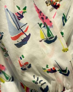 love this sailboat print -- it was one of my favorite blouses from anthro