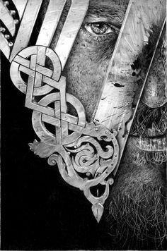 Ragnar - Vikings by Rieven.deviantart.com on @DeviantArt
