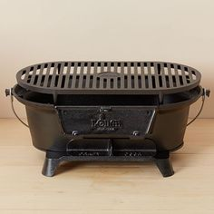 Lodge Cast Iron Hibachi Grill #westelm