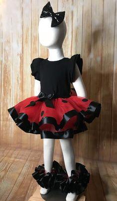 Ladybug Tutu Skirt, Ladybug Ribbon Tutu, Ladybug Birthday Tutu Dresses, Girls Dresses, Flower Girl Dresses, Ladybug Tutu, Ribbon Tutu, 1st Birthday Tutu, Tutus For Girls, Dress Collection, Party Dress