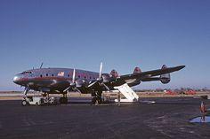 TWA Constellation at Indianapolis Nov 1952 | Flickr - Photo Sharing!