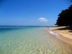 The beach at Siladen