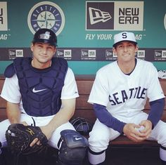 Mike Zunino and Brad Miller