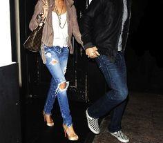 Peep toe + jeans = cool