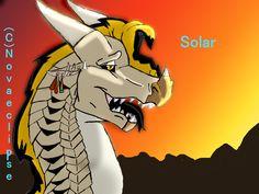 Solar for my friend@(Falcon) drawn by me Novaeclipse