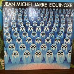 Jean Michel Jarre Equinoxe Vinyl Record LP 1979 Disques Dreyfus French Electronic Music Synthesizer Prog Synth by vintagebaronrecords on Etsy