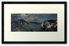 """""""Rocky Mountain High"""" by Colleen G. Drew, framed. Available for sale."""