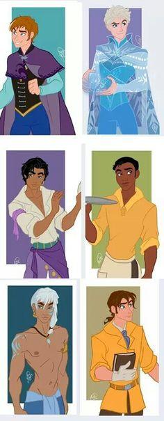 Disney character gender bender