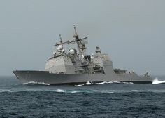 Ticonderoga-class guided-missile cruiser USS Mobile Bay (CG 53)