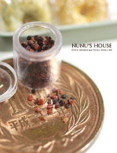 This is insane. Miniature raisins by Nunu's House.