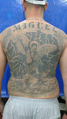 Tattoo painel São Miguel Arcanjo