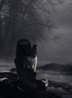___╋ I love Gothic ╋___ Dark Beauty, Gothic Beauty, Gothic Fantasy Art, Dark Gothic Art, Medieval Fantasy, Final Fantasy, Arte Obscura, Goth Art, Dark Photography