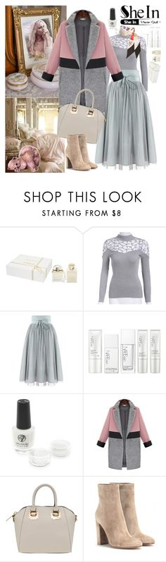 """""""Shein skirt"""" by irinavsl ❤ liked on Polyvore featuring Chloé, NARS Cosmetics, Gianvito Rossi and Gucci"""