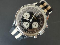 Vintage Breitling Navitimer AOPA Chronograph Ref 806 Beaded Bezel No Reserve   eBay