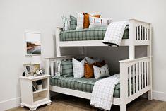 Styled for Bunk Beds – Beddy's Girls Bedroom, Bedroom Decor, Floral Bedroom, Bedroom Ideas, Master Bedroom, Kid Beds, Bunk Beds, Neutral Bedding, Green Bedding