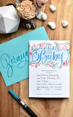 Printable Baby Shower Invitations | @thebabycubby Printable Baby Shower Invitations, Baby Shower Printables, Baby Shower Themes, Free Printables, Pearl Bridal Shower, Beautiful Baby Shower, I Still Love You, Baby Must Haves, Creative Decor