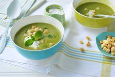 Erwtensoep met munt, recept voor soupmaker