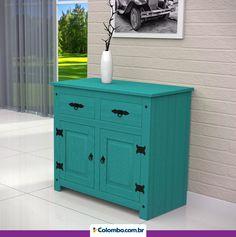 Dê um toque especial na decoração da casa com móveis coloridos! As cores vibrantes podem transformar seu ambiente: http://www.colombo.com.br/produto/Moveis/Balcao-Serpil-Wood-com-2-Portas-e-2-Gavetas-WL-113?utm_source=Pinterest&utm_medium=Post&utm_content=Balcao-Serpil-Wood-com-2-Portas-e-2-Gavetas-WL-113&utm_campaign=Produto-03ago15