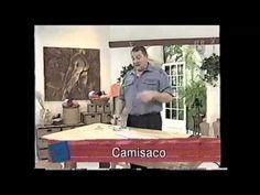 Hermenegildo Zampar - Bienvenidas TV - Explica Cuello Solapa. - YouTube
