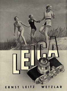 Ancienne publicité Leica