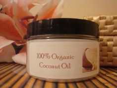 Organic Coconut Oil 4 oz Unscented/Pure by blackbutterfly621, $3.95 also niasnaturals.com