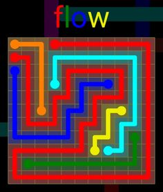 Flow Extreme Pack 2 - 11x11 - level 30 solution