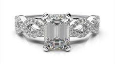 Snubný prsteň z bieleho zlata zlatníctvo Bratislava l Ardiama. Bracelet Watch, Emerald, Wedding Rings, Engagement Rings, Watches, Bracelets, Accessories, Jewelry, Bangles