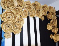 "Panou foto ""Vintage Flowers"""